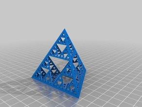sierpinski pyramid math art sierpinski sierpinski triangle