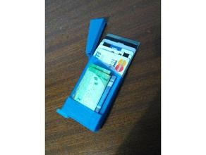 slim wallet v40 - bigger stronger money holder accessories card holder minimialist minimial wallet money holder slim slim wallet wallet