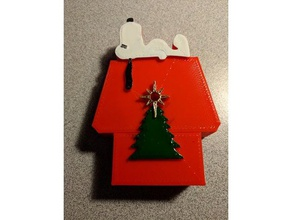 snoopy christmas ornament decor christmas christmas decoration christmas ornament christmas tree dog house holiday navidad ornament snoopy