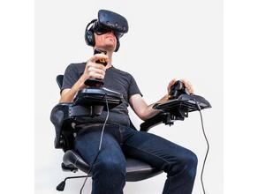 elite dangerous flight sim cockpit - joystick chair mounts video games chair cockpit elite dangerous flight sim flight simulator flight simulator x joystick mount mounts simulator space spaceship