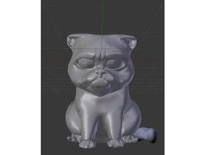 grumpy cat tardar sauce sculptures cat grumpy grumpycat grumpy cat