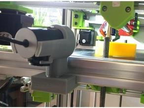 hypercube evolution microsoft lifecam cinema & studio mount 3d printer accessories 3030 extrusion camera mount hypercube evolution lifecam lifecam cinema microsoft microsoft lifecam microsoft lifecam studio