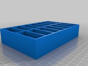 screws nuts organizer 3d printing nut orginizer screw tool organiz