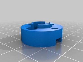 lead nut adapter prusa i3 clone 3d printer parts adapter lead leadscrew lead nut lead screw mod prusa prusa i3 prusa i3 mk2 trapezoidal trapezoidal leadscrew trapezoidal nut