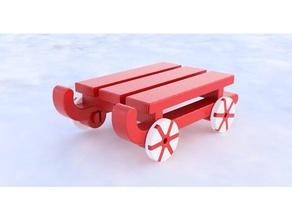 tealight holder sledge decor christmas tealight holder sledge tealight tealight holder toy