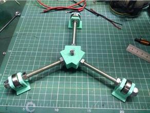 simple rotating base art tools lazy susan modeling painting rotating rotating display turn table