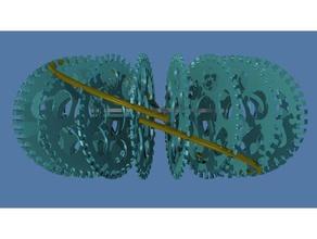 abha rodin coil frame phi proportions 36x36 pattern electronics 36x36 36x36 pattern 3rd order abha coil abha torus phi rodin rodin coil rodin vortex coil torus vortex vortex coil