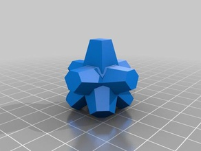 eterna gobstopper - dimensioni effettive La stampa 3d