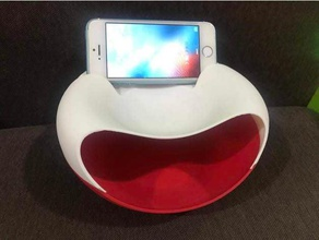 snackie-versatile snackbowl+trashcan+phonestand containers bowl phone stand snack snack bowl snack holder