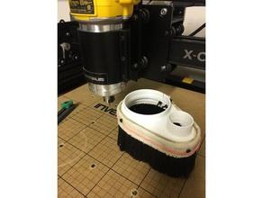 x-carve dust shoe parts cnc dust shoe cnc machine cnc vacuum dewalt 611 dewalt 611 dust shoe dust shoe x-carve x-carve dust shoe xcarve xcarve dust shoe