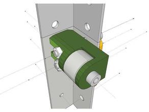 adjustable belt tensioner flyingbear p905 3d printer parts belt tensioner flyingbear-p905 p905