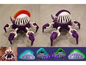 4 mohawks vorpal hexapod robotics accessory add-on combat hair hairdo hair style hexapod mohawk remote control robot robotics vorpal