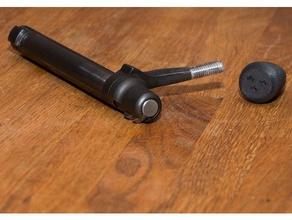 tactical bolt knob m8 thread 700 bold boltknob kno remington tactical