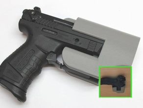 under table mounting plate walther p22 9mm pak pistol tool holders & boxes 9mm blank gun car gun gun protection gun holder pak pistol pistole pistol stand protection schreckschusspistole self protection self defense table under table waffe walther walther arms walther p22