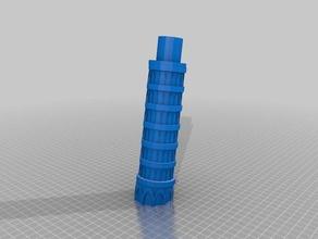 torre pendente di pisa La stampa 3d