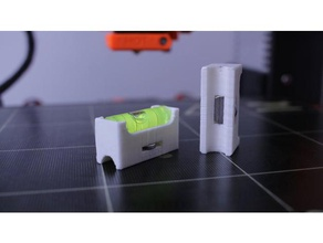 axis spirit level guide - prusa i3 3d printers prusa i3 bed leveling leveling helper spirit level axis spirit level mk2s spirit level prusa i3 spirit level x axis leveling y axis leveling