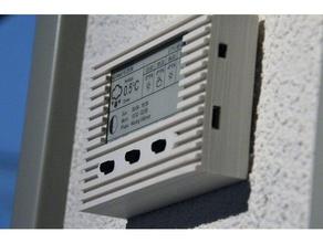 epaper-display gadgets esp8266 squix tinkercad Wetter-station