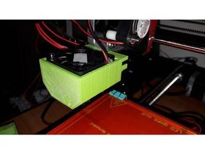 fan duct - ctc prusa i3 3d printer parts 40mm fan duct ctc ctc 3d printer ctc printer ctc prusa i3 ctc prusa i3 pro b ctc upgrades fan duct