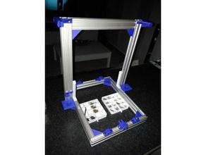 corner aluminium profil 2020 - 2040 - 4040 3d printer parts 2020 2020 aluminum 2020 coner 2020 extrusion 2020 mount 2040 2040 bracket 2040 extrusion 2040 mount 4040 4040 bracket 4040 corner 4040 extrusion am8 am8 bracket am8 mount am8 upgrade anet am8