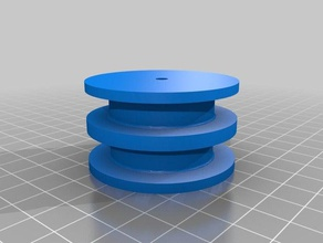 double 50mm pulley 3d printing belt pulley filament pulley gantry gantry pulley gantry block gantry system i3 gantry idler pulley pulley pulleys timing pulley