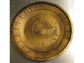 skyrim inspired dwemer plate catchall tray decor catchall dinnerware dwarf dwarven dwarves dwemer elder scrolls plate skyrim skyrim item elder scrolls tray