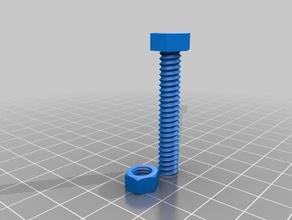 10m nut bolt 3d printing bolt hex nut m 10 nut m3 nut m6 nut nut nuts nut bolt