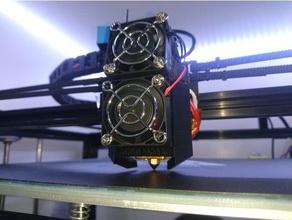 airblaster tronxy x5s 3d printer parts dual fan duct extruder cooling fan duct fan mount tronxy tronxy extruder tronxy fan duct tronxy fan mount tronxy x5s x5s x5s extruder x5s fan