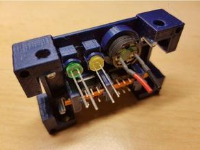 pc mining rig d'alimentation bouton de réinitialisation buzzer led 5 mm titulaire du panneau ordinateur