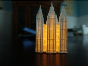 slc temple tealight cover models glowing stuff mormon church mormon model mormon stuff mormon temple replica salt lake city salt lake city temple slc temple tealight cover tealight holder tea light candles temple light utah utah temple