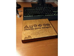 dices box laser cut dice box d&d d20 d20 dice d20 holder d20 system dice dices dice box dungeons dragons gaming dice laser laser-cut lasercut lasercutting laser engraver rpg tabletop tabletop gaming