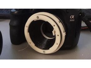 sony af e-mount adapter la-ea0 camera mount e mount la-ea0 lens adapter minolta af sony alpha sony mount sony e mount sony nex