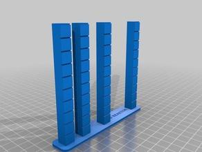 heattower retraction test 3d reaktor 3d printing tests calibrate calibration calibration test heat heattower printer calibration retraction retraction-test retraction test temp calibration