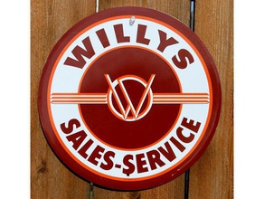 vintage willys sales service sign coin automotive 3d sign american antique antique sign auto auto service auto service sign auto sign automobile automobile sign automotive automotive sign coin collectable collectable sign collector collectors sign cool jeep jeep sales jeep sign nametag now trending popular sales service service sign sign tag trending vintage vintage sign willys willys sales willys sign