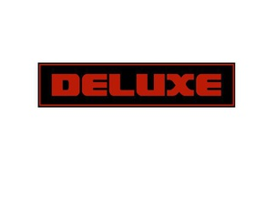 universal deluxe badge 3d printing 3d badge auto auto badge automobile automobile badge automotive automotive badge badge car car badge deluxe deluxe badge lux luxury nametag sign tag truck truck badge universal universal badge