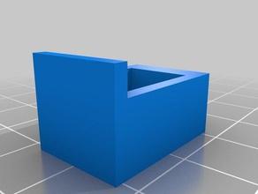 sauder bracket cabinet hinge needs drilled parts 3d slash bracket hinge sauder
