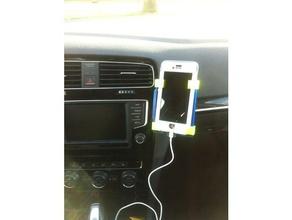 iphone 6 titular vw golf 7 el teléfono móvil el iphone 6 soporte para smartphone vw golf 7