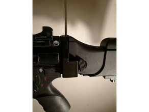 mp5k g36 stock adapter sport & outdoors airsoft airsoft accesories airsoft mp5k airsoft parts mp5k mp5k pdw
