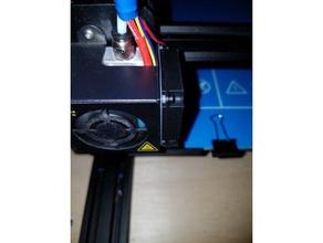 cr-10 part cooler fan vibration isolator 3d printer accessories cr-10 fan isolator isolator vibration