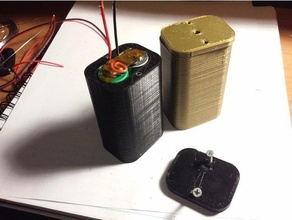 18650 2s hard case w cap diy 18650 18650 2s 18650 case battery pack case diy diy 18650 diy battery hard hard case led led pack led strip simple