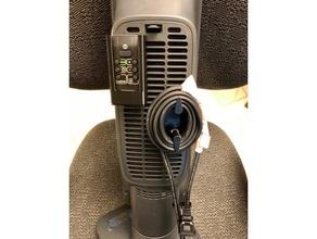 remote holder cord wrap cord clip delonghi space heater organization cord clip cord wrap delonghi hfx65v15l remote holder space heater