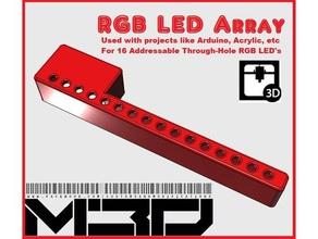 16-hole 5mm rgb led array base arduino neopixel etc electronics arduino led led holder led lamp led light led mount led strip neopixel neopixels neopixel strip rgb rgb-led rgb led rgb led strip rgb led strips