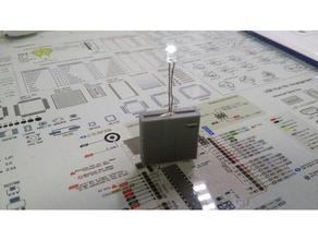 k'rome led tester cr2016 3d printing coin cr2016 filament led slicer tester