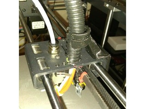 p905 extruder wire support 3d printer parts flyingbear-p902 flyingbear-p905 p902 cable holder p905