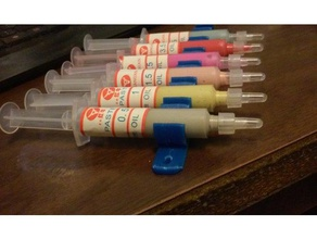lapping paste syringe holders hobby holder lapping paste plastic doodads syringe syringe holder