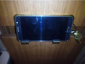 soporte tel fono m vil armario cuarto ba o support mobile phone wardrobe bathroom mobile phone