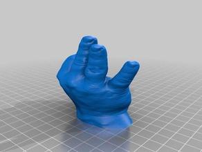 mano para cepillos diente 3d printing ba o dientes