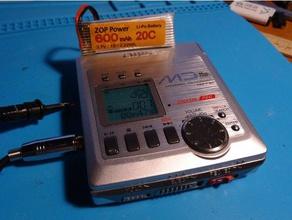 lib-902 1s li-po adapter audio adapter adaptor aiwa battery case battery holder lib-902 minidisc