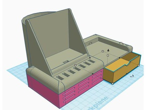 Schreibtisch-organizer computer Schreibtisch-organizer iphone 8 plus iphone-docking-Station Veranstalter sd-Karten-Halter usb-Halter usb-Veranstalter usb-stick-Halter