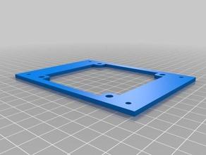 cover fan 80x80x10 flyingbear p905 3d printer parts 80x80 cover flyingbear-p905 p905
