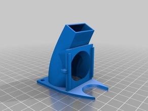 mpsm v2 40mm fan shroud 3d printer parts 40mm fan 40mm fan duct 40mm x 40mm fan fan duct fan shroud mods monoprice monoprice monoprice mini monoprice select mini mpsm mpsm v2 mp mini select v2 noctua fan noctua fan 40mm